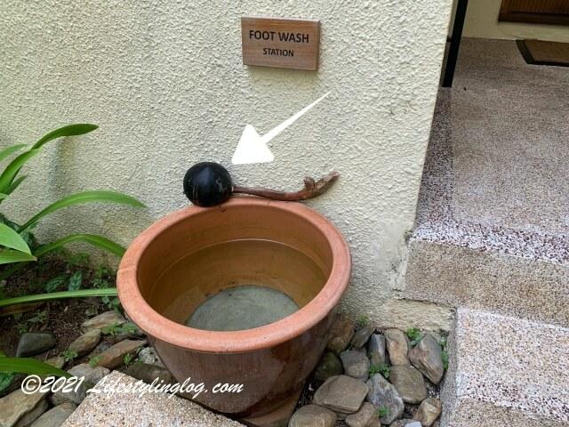 マレーシアのリゾートホテルで使われているココナッツの殻を使ったアイテム