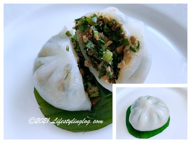 韭菜菜粿(ニラ入りのChai Kuih)